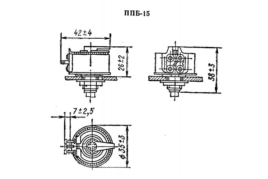 резистор ппб вар длинна размер габариты