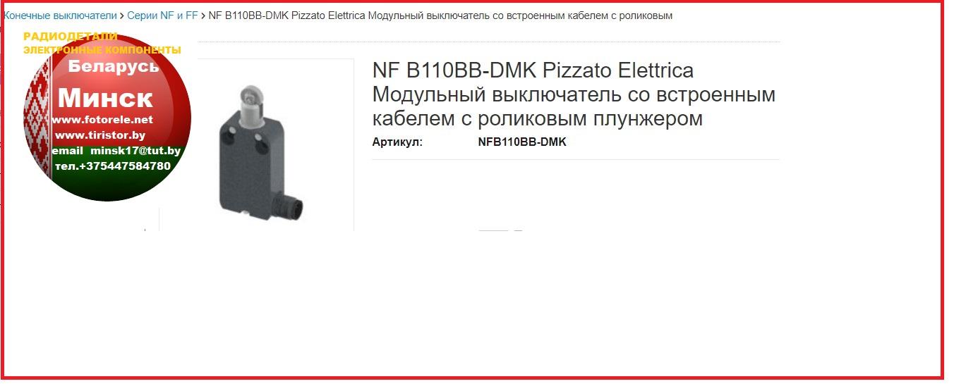 Концевой, путевой,  выключатель, NF B110BB-DMK