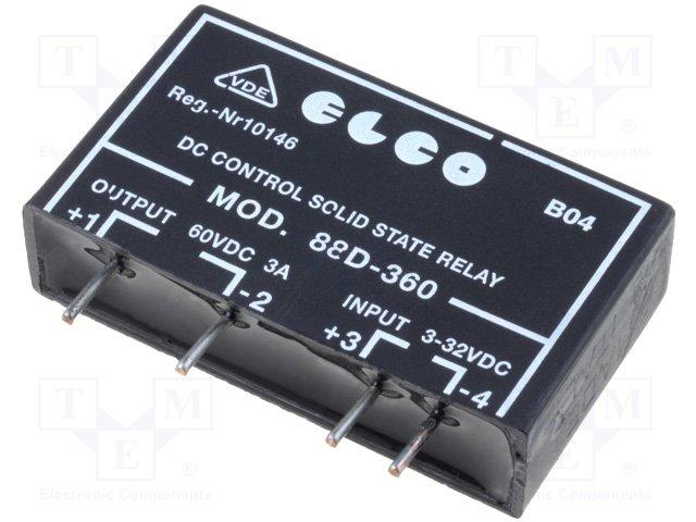 ELCO , SSR88D-360, реле