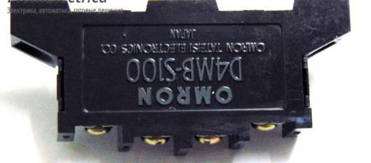 концевой выключатель OMRON D4MB-S100