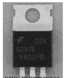 G23n60ufd, sgp23n60ufd, g23n60, to-220, транзистор