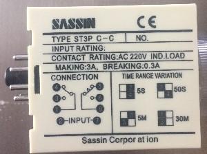 ST3P C-C реле времени