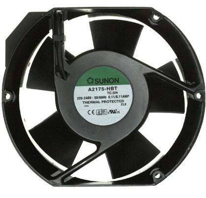 вентилятор sunon переменного тока a2175 230vac