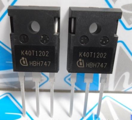 Ikw40n120t2, k40t1202, транзистор