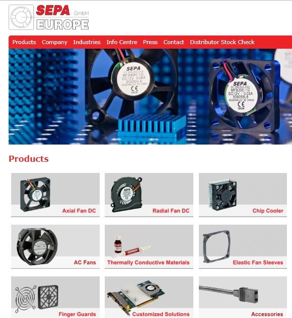 sepa europe вентилятор datasheet, даташит, каталог, описание, технические, характеристики,