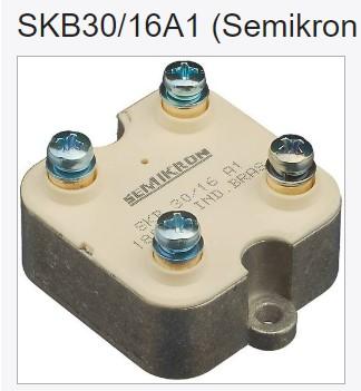 SEMIKRON SKB30/16A1 модуль SKB30-16A1 SKB3016A1