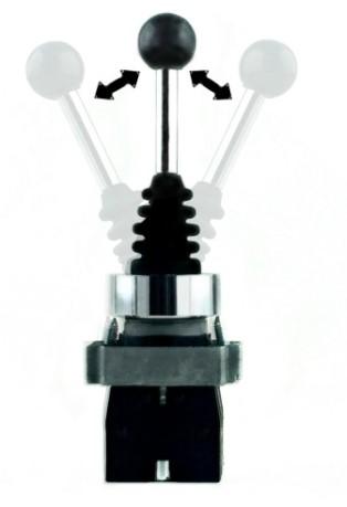 SCHNEIDER ELECTRIC XD2PA22 Джойстик; 1; ?22мм